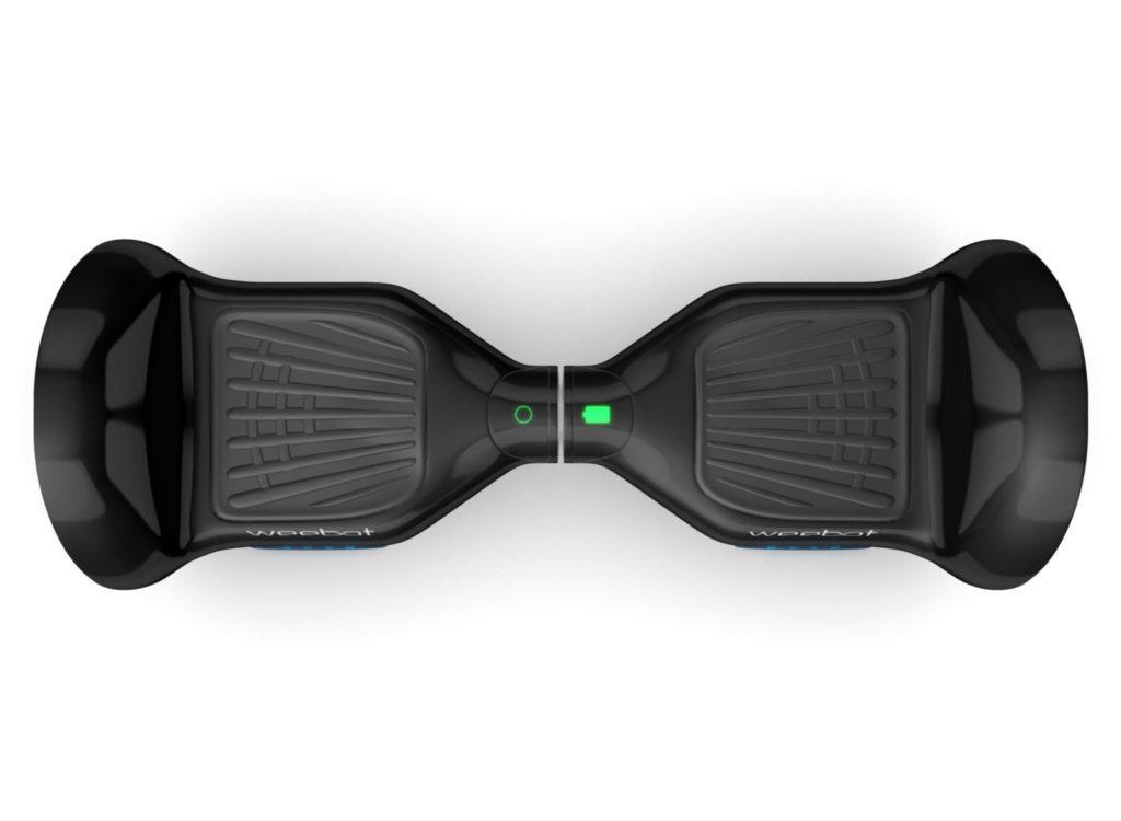 hoverboard tout terrain de Weebot-noir-haut