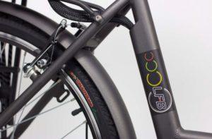vélo à assistance électrique lfb ct26 freins