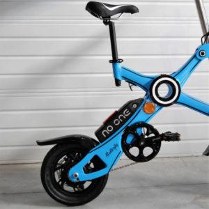 roues du vélo électrique pliant Butterfly